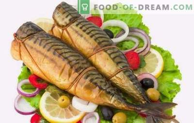 Smoked mackerel at home: on the grill, frying pan, convection oven. All the secrets of smoking mackerel at home