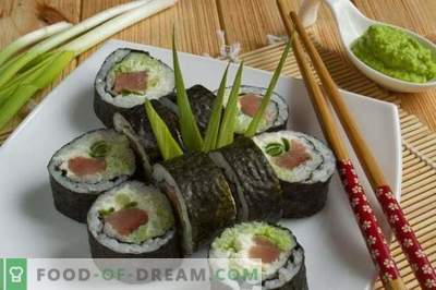Sushi Maki with Red Fish