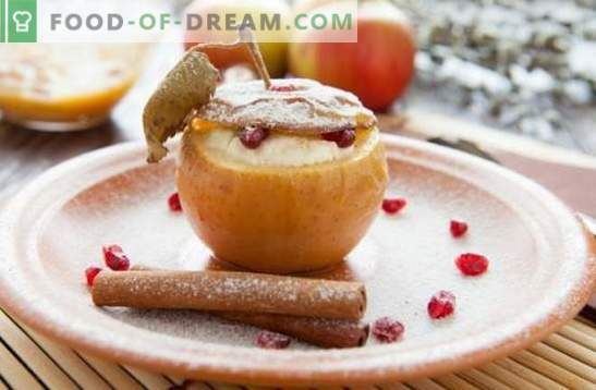 Apple dessert - a delicacy with your favorite flavor! Cooking ice cream, pastille, pastries, salads and other homemade desserts from apples