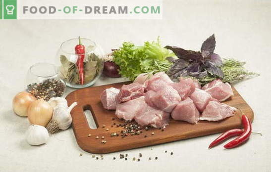 How to marinate pork for kebab: tips from experienced