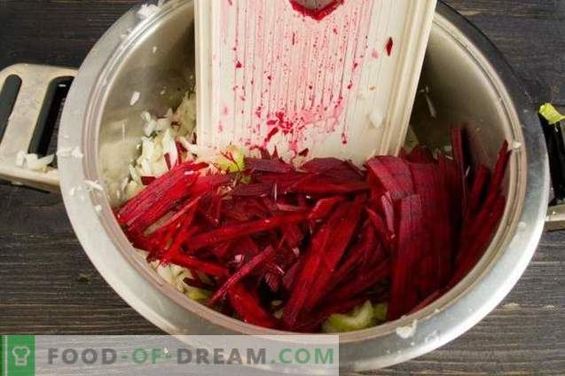 Pickled Cabbage with Beets
