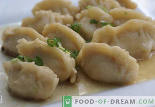 Dumplings on kefir - the best recipes. How to properly and tasty cook dumplings on kefir at home.
