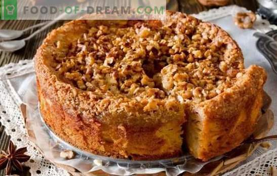 Quick cake for tea - recipes for the housewives! Recipes for quick cakes for tea with cottage cheese, apples, cocoa, jam and jam