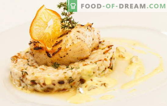 Fish in cream: cooking is easy, eating is useful. Options for cooking fish in cream: with mushrooms, cheese, shrimp