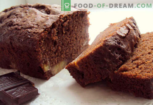 Chocolate cake - the best recipes. How to quickly and tasty cook a chocolate cake.