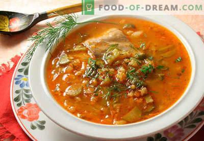 Augurk - bewezen recepten. Hoe goed en smakelijk koken augurk.