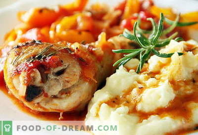 Chicken mashed potatoes are the best recipes. How to properly and tasty cook mashed potatoes with chicken.