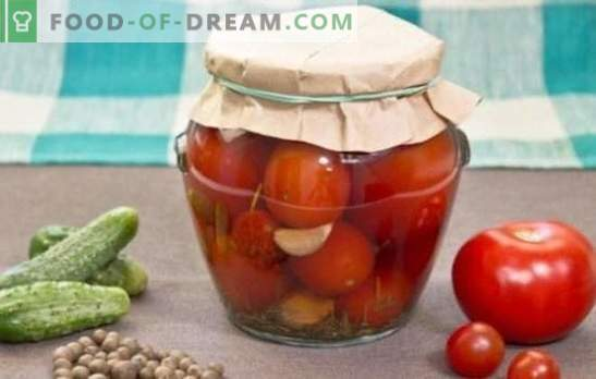 Canned tomatoes for the winter: delicious storage. Recipes canned tomatoes for the winter