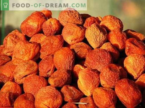 Apricot - description, useful properties, use in cooking. Recipes with dried apricots.
