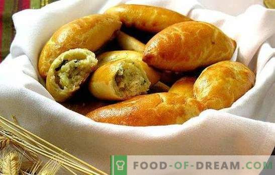 """Patties with potatoes in the oven - """"fast food"""" in Russian. Recipes for dough and fillings for the most delicious pies with potatoes in the oven"""
