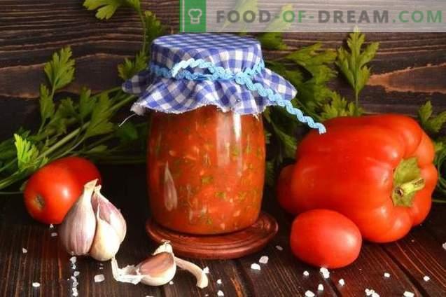 Lyutenitsa - Bulgarian pepper and tomato sauce