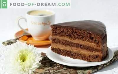 Die Prager Torte ist ein klassisches Rezept für ein Lieblingsvergnügen. Wie man den Kuchen