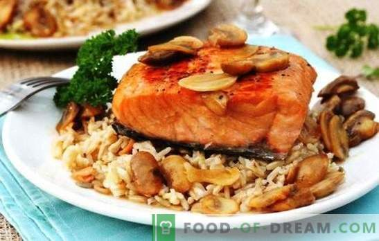 Trout in a slow cooker - impossible to spoil! Recipes of different trout in a multicooker steamed and with vegetables, rice, sauces