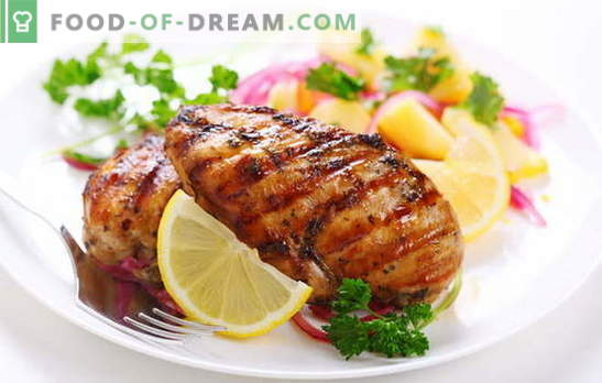 Grilled breast - the taste and smell of a summer picnic. Marinade recipes and grilled breast cooking methods at home: step by step