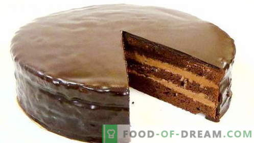 Cake Prague - the best recipes. How to properly and tasty cook Prague cake.