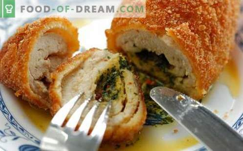 Chicken Kiev cutlets are the best recipes. How to properly and tasty cook chicken Kiev.