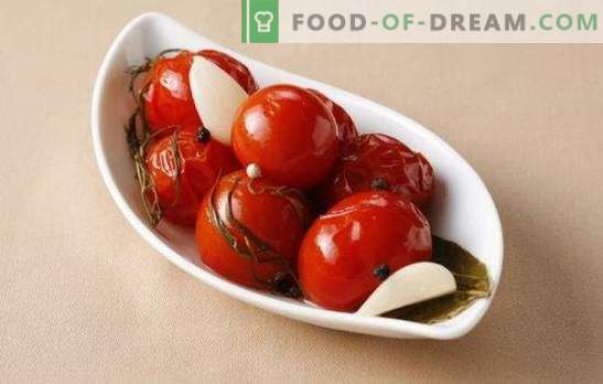 Salted tomatoes for the winter: a bank of vitamins. Simple and delicious cooking options for salted tomatoes for the winter