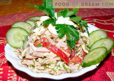 Berlin salad - the best recipes. How to properly and tasty cook Berlin salad.