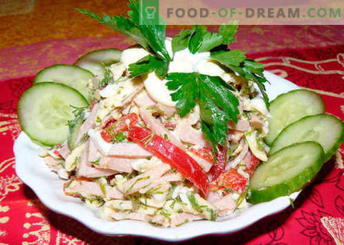 Berlin salad - the best recipes  How to properly and tasty