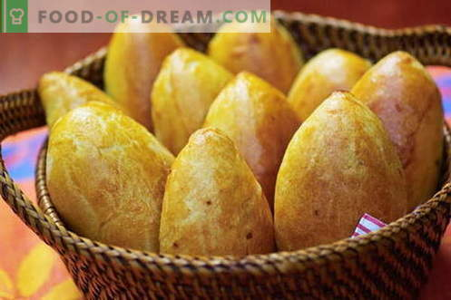 Pastry dough - the best recipes. How to properly and tasty cook pie dough.