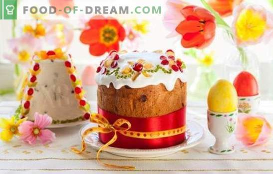 How to decorate a cake to surprise guests? Ways to decorate Easter cakes for Easter, options for fudge and icing: recipes for their preparation