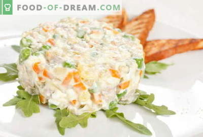 Olivier with chicken - the best recipes. How to properly and deliciously cook a chicken salad.