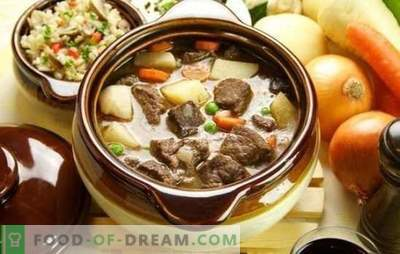 Mutton in a pot is a good meat for real gourmets. How to cook lamb in a pot in the oven in different ways