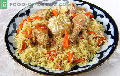 How to cook crumbly pilaf, how to choose and prepare rice. Crumbly pilaf - the secrets of world cooking