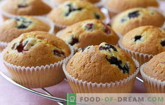 Homemade cupcakes: recipes. How to make lemon, chocolate, cottage cheese cupcakes in molds at home