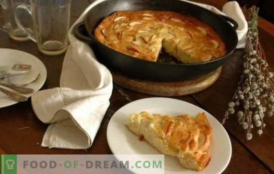 Cottage cheese casserole with apples - an unusual breakfast and healthy. Recipes for cottage cheese casseroles with apples: dietary and hearty