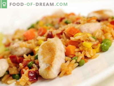 Chicken pilaf in a slow cooker - the best recipes. How to properly and tasty cook chicken pilaf in a slow cooker.