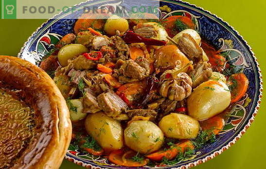 Potatoes with meat in a cauldron - a new taste of the usual dishes. How to cook potatoes with meat in a cauldron: recipes step by step