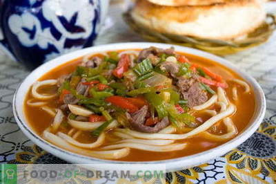 Lagman - the best recipes. How to properly and tasty cook lagman.