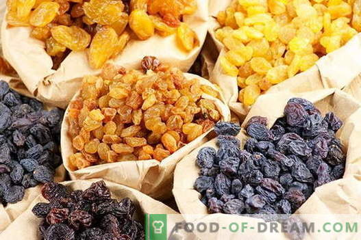 Raisin compote - the best recipes. How to properly and tasty compote made of raisins.