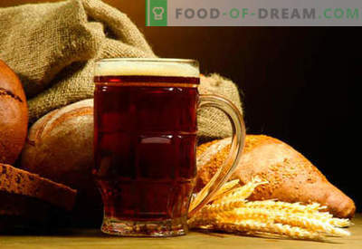 Home-made kvass: bread, rye, sourdough, without yeast - the best recipes. How to make kvass at home.