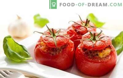 Baked tomatoes with minced meat - juicy, tasty, original. A selection of the best recipes for baked tomatoes with minced meat