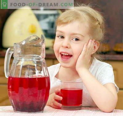 Компот за дете - най-добрите рецепти. Как да правилно и вкусно компот за детето.