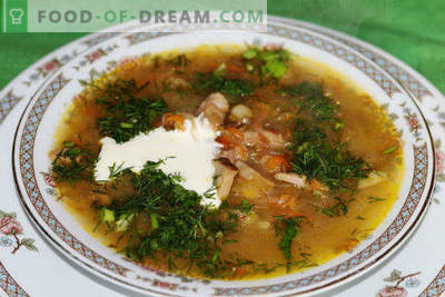 How to cook sauerkraut soup with beef, pork, chicken