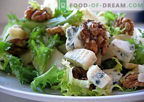 Vegetarian salads are the best recipes. How to properly and tasty cook vegetarian salads.
