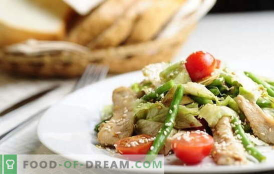 Chicken fillet with beans - a satisfying combination. The best recipes for appetizers, second and first courses of chicken fillet with green beans