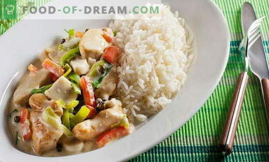 Chicken with vegetables - the best recipes. How to properly and cook chicken with vegetables