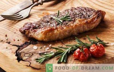 Beef steak in the oven - for real meat lovers. How to cook a delicious and juicy beef steak in the oven