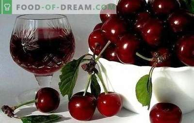 Technology of cherry wine at home. Recipes of popular brands: unusual cherry wine at home