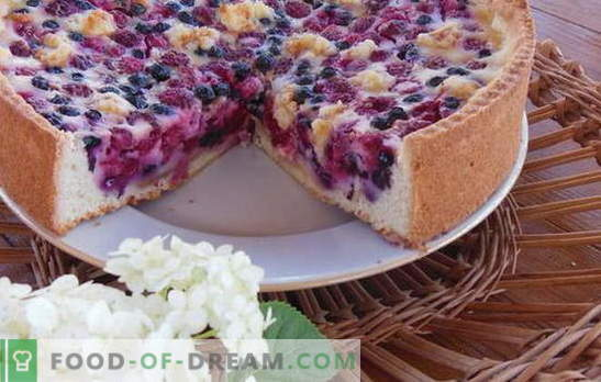 Bulk pie on kefir - quickly, simply and very tasty. Recipes for bulk cakes on kefir: with meat, cheese, fish, cherries, etc.