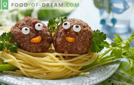 All the secrets of cooking soup with meatballs for children. The best recipes for meatballs for children under 1 year