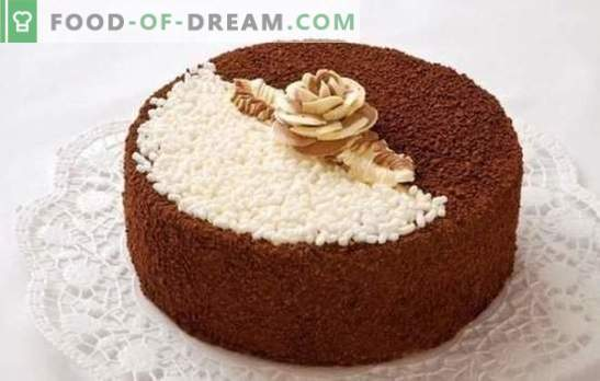 Day and night cake: one name - different recipes. How to cook a delicious cake