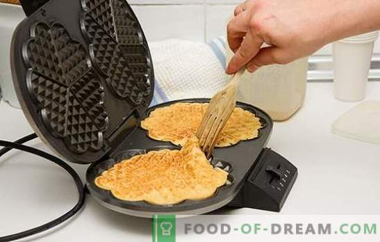 Why do waffles turn out badly: is the waffle maker to blame?