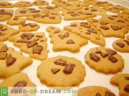 Shortbread - the best recipes. How delicious to cook shortbread cookies.