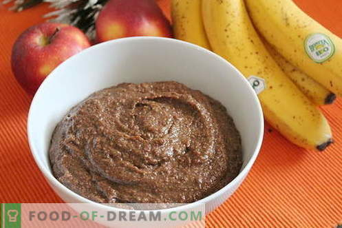 Linen porridge - the best recipes. How to cook flax porridge.