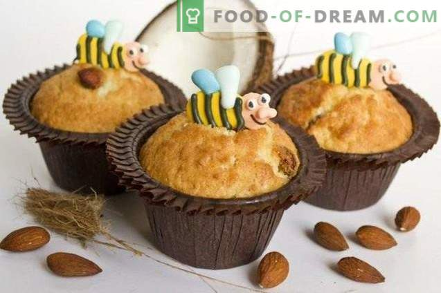 Muffins with coconut